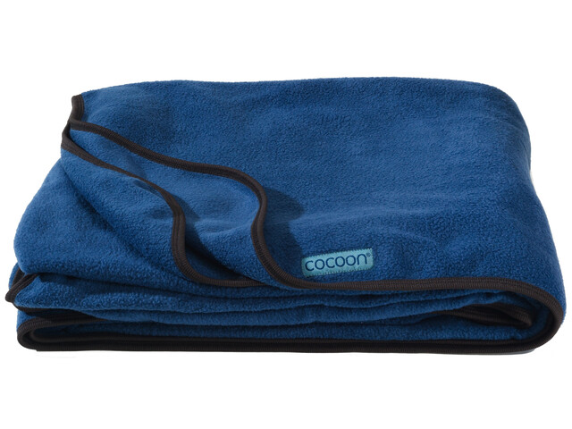 Cocoon Fleece Blanket deep blue